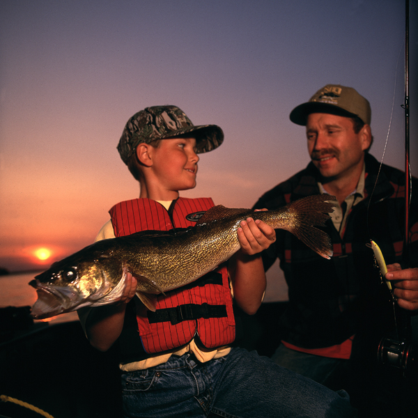 Fishing on Leech Lake - Fun things to do in Minnesota