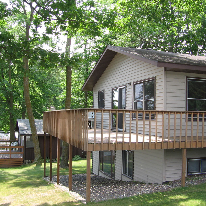 Shoreview Four Bedroom on Leech Lake